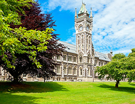 The Registry Building in the University of Otago